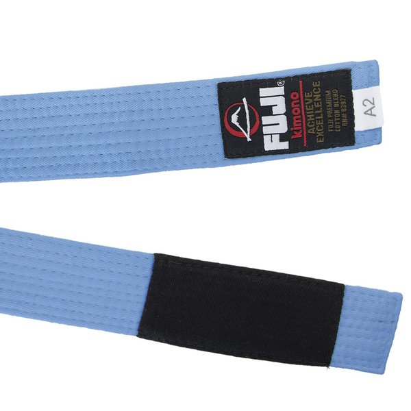 FUJI 柔術帯 BJJ Adult Belts Blue フジ 青帯|2m50cm|03