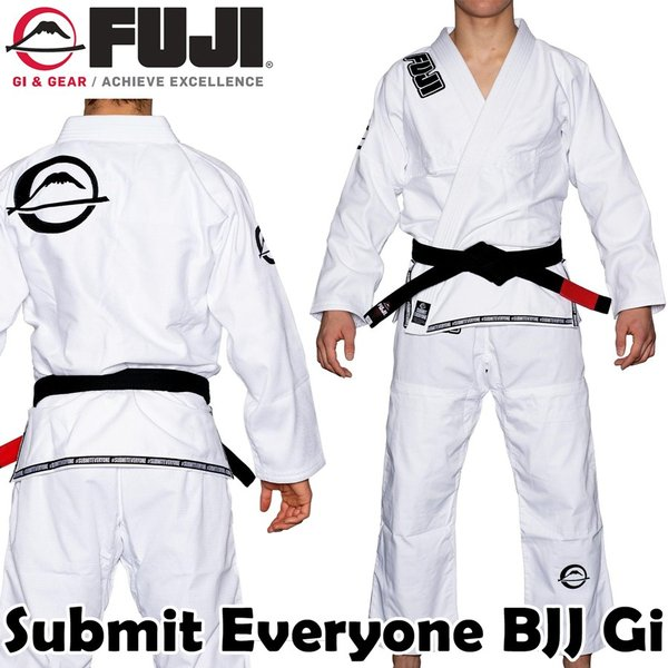 Fuji BJJ Belt White A2