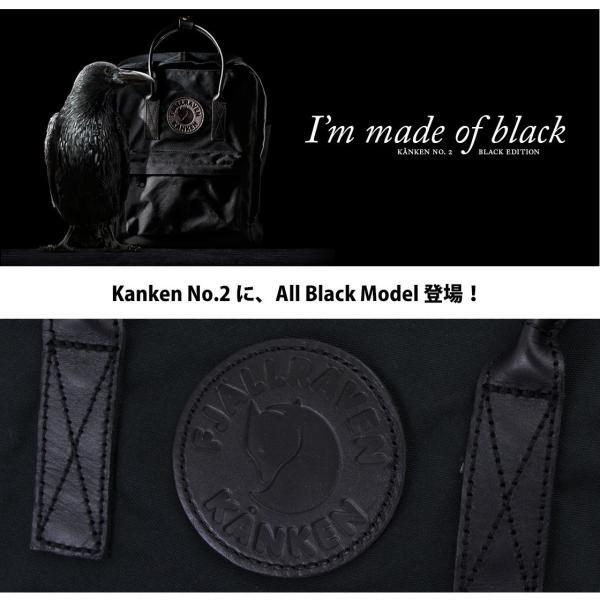 Fjall Raven フェールラーベン Kanken No.2 Black|2m50cm|02