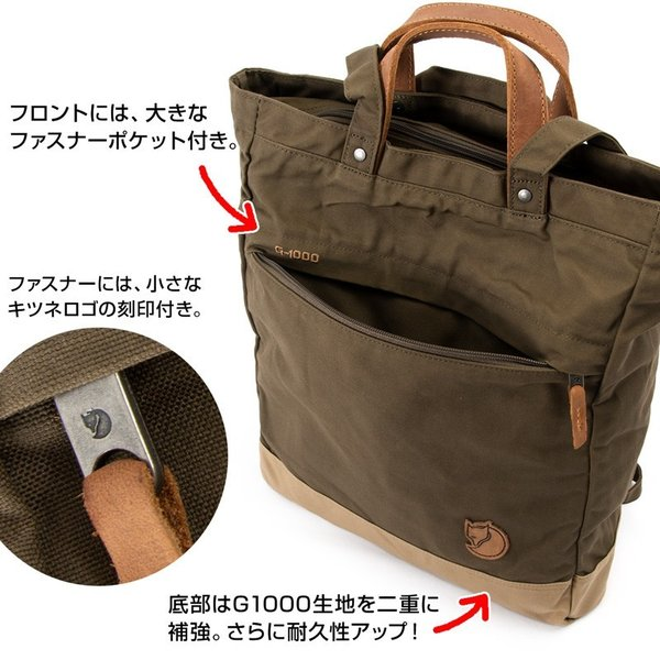 Fjall Raven  フェールラーベン Totepack No.1 Small トートパック No.1 スモール|2m50cm|09