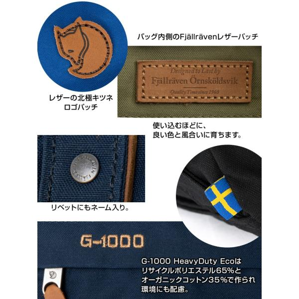 Fjall Raven  フェールラーベン Totepack No.1 Small トートパック No.1 スモール|2m50cm|11