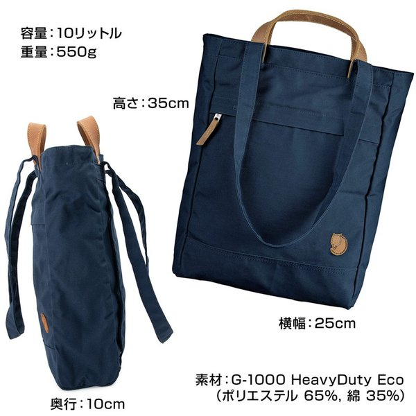Fjall Raven  フェールラーベン Totepack No.1 Small トートパック No.1 スモール|2m50cm|13