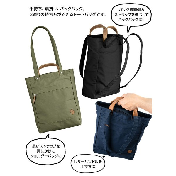 Fjall Raven  フェールラーベン Totepack No.1 Small トートパック No.1 スモール|2m50cm|07