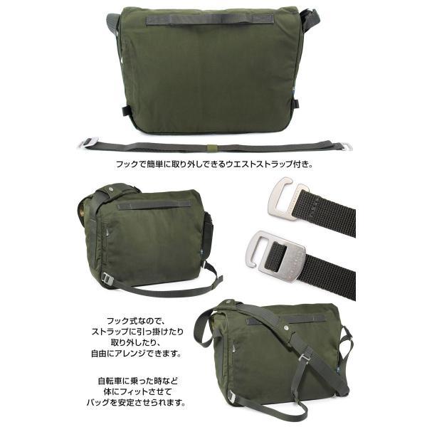 Fjall Raven  フェールラーベン Greenland Shoulder Bag グリーンランド ショルダーバッグ|2m50cm|09