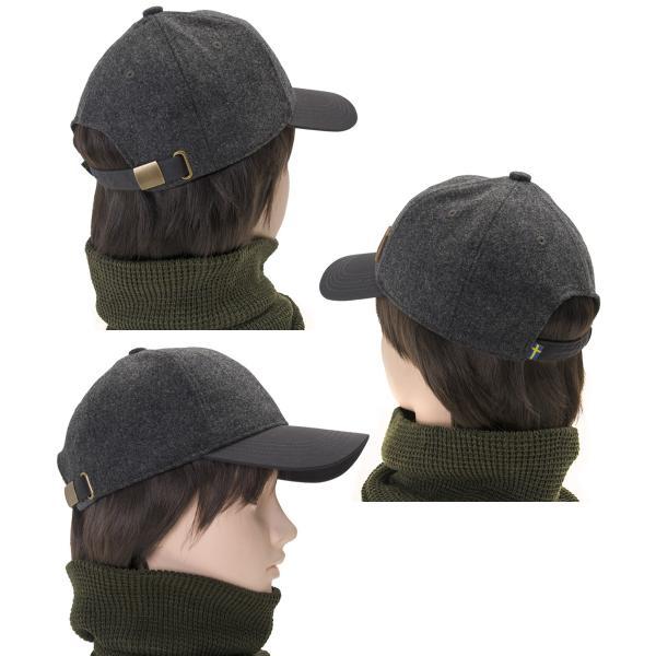 帽子 Fjall Raven フェールラーベン Greenland Wool Cap グリーンランド ウール キャップ|2m50cm|04