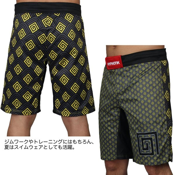 HYPNOTIK ファイトショーツ KYOTO FIGHT SHORTS|2m50cm|03