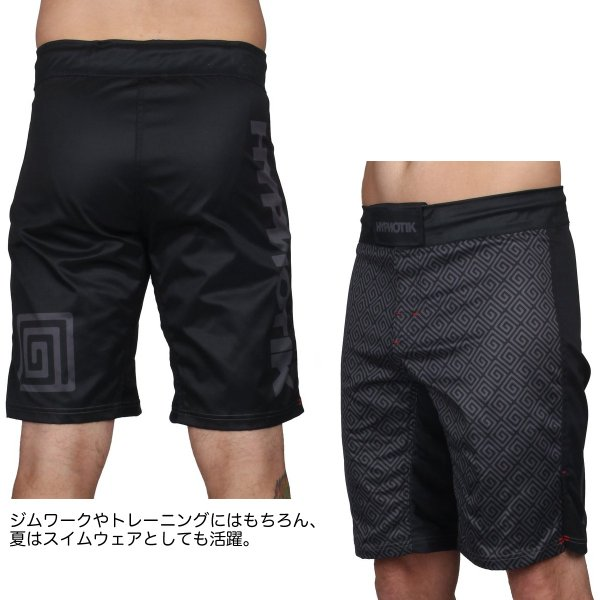 HYPNOTIK ファイトショーツ EDO FIGHT SHORTS|2m50cm|03