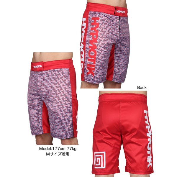 HYPNOTIK ファイトショーツ EDO FIGHT SHORTS|2m50cm|04