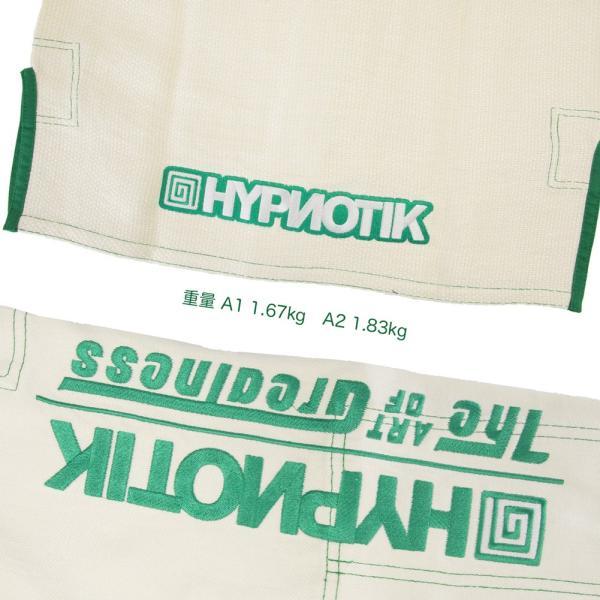 HYPNOTIK 柔術着 ZENROLL HEMP BJJ GI Natural White|2m50cm|08
