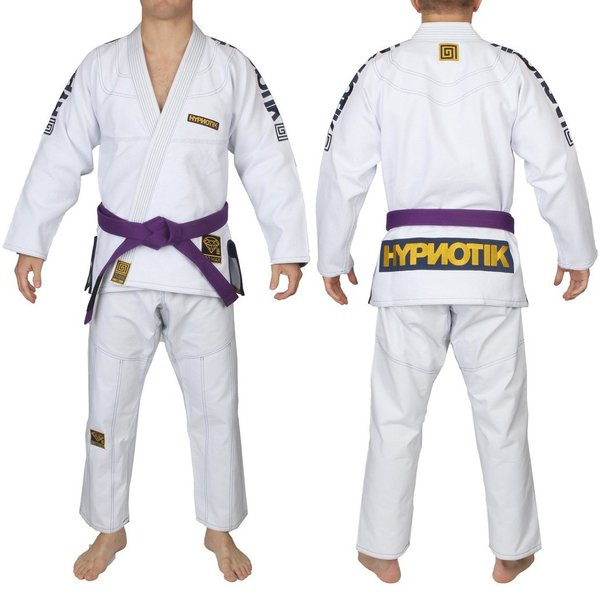HYPNOTIK 柔術着 PROMAX 550 BJJ GI ホワイト|2m50cm|03