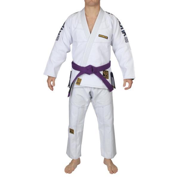 HYPNOTIK 柔術着 PROMAX 550 BJJ GI ホワイト|2m50cm|09