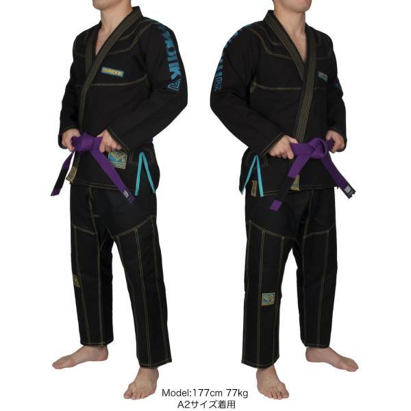 HYPNOTIK 柔術着 PROMAX 550 BJJ GI ブラック|2m50cm|02