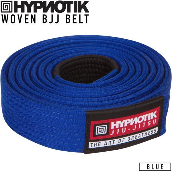 HYPNOTIK Woven BJJ Belt 柔術 青帯 ブルー|2m50cm