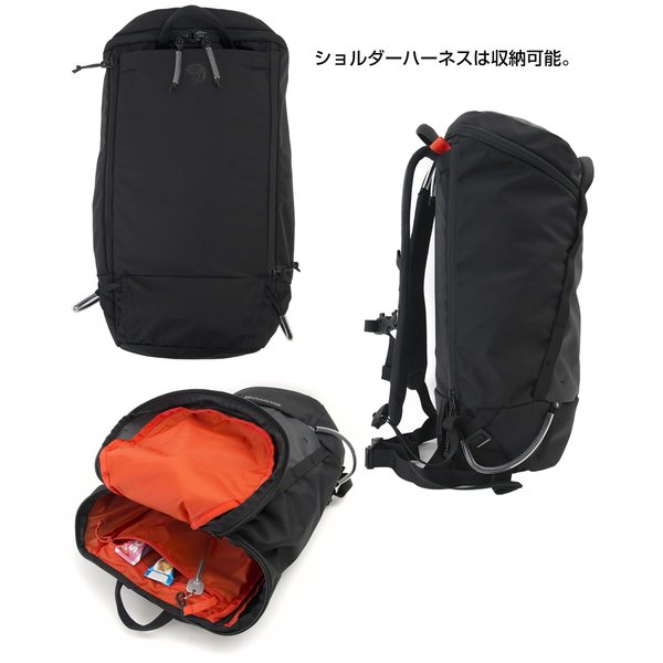 Mountain Hardwear マルチピッチ 25パック 25L|2m50cm|11