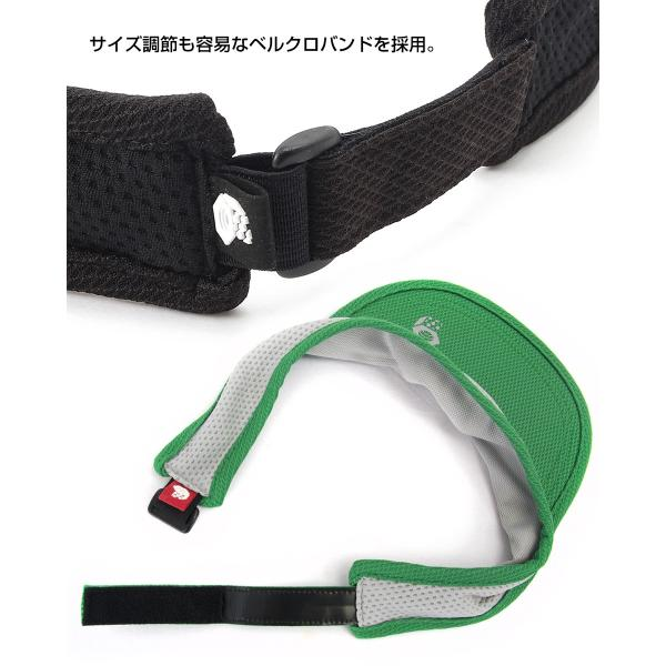 Mountain Hardwear ランニングバイザー MHW Running Visor|2m50cm|06