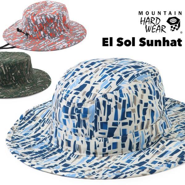 帽子 Mountain Hardwear El Sol Sunhat エルソル サンハット|2m50cm