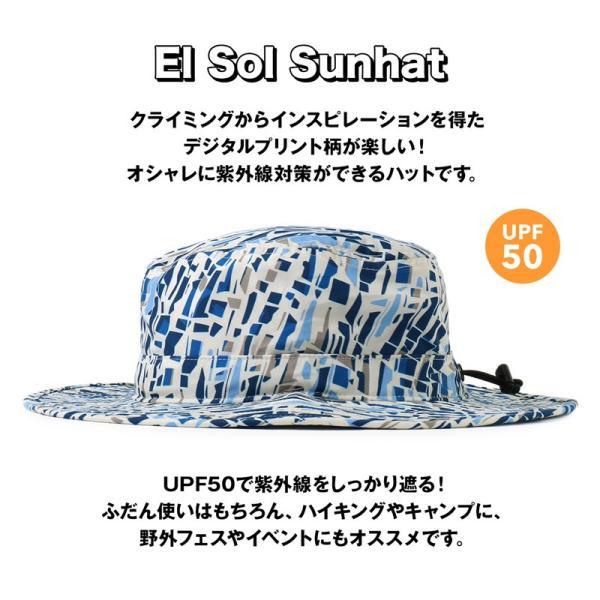 帽子 Mountain Hardwear El Sol Sunhat エルソル サンハット|2m50cm|05