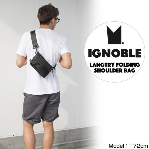 IGNOBLE イグノーブル Langtry Folding Shoulder Bag ショルダーバッグ|2m50cm|02