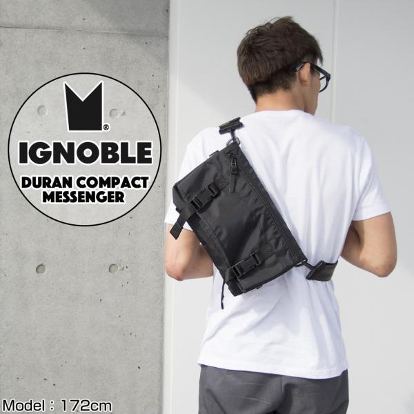 IGNOBLE イグノーブル Duran Compact Messenger メッセンジャーバッグ|2m50cm|02