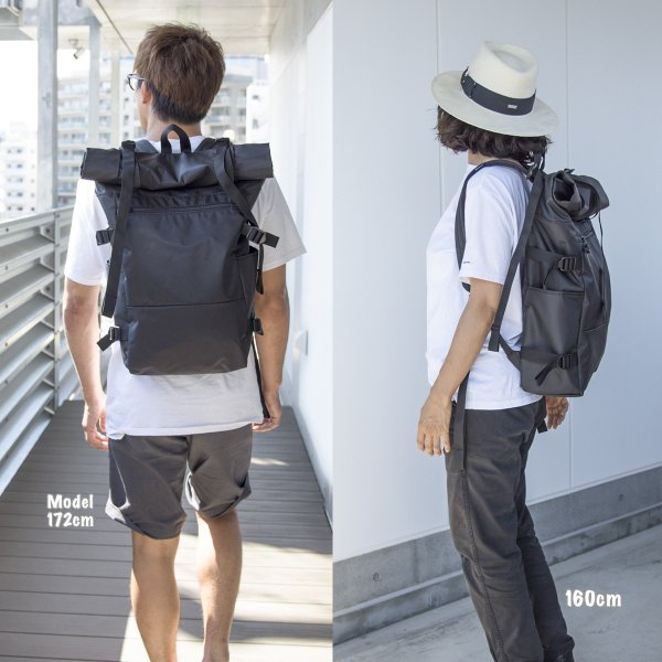 IGNOBLE イグノーブル Ward's Abyss Rolltop Backpack バックパック|2m50cm|04