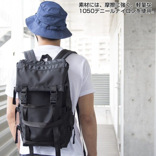 IGNOBLE イグノーブル Glanton Kerosene Bag バックパック|2m50cm|03