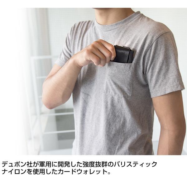 IGNOBLE イグノーブル Earle Folding Card Wallet カードウォレット 2m50cm 02