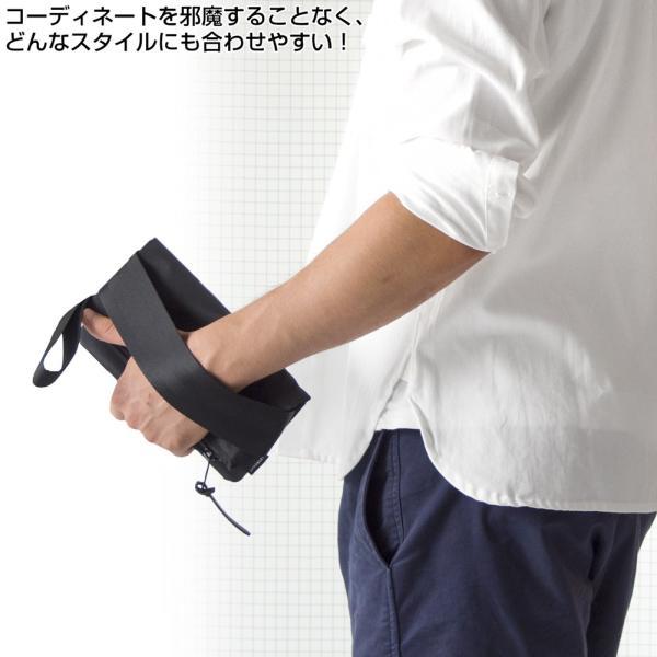 IGNOBLE イグノーブル Eckhardt Folding Clutch クラッチバッグ|2m50cm|03