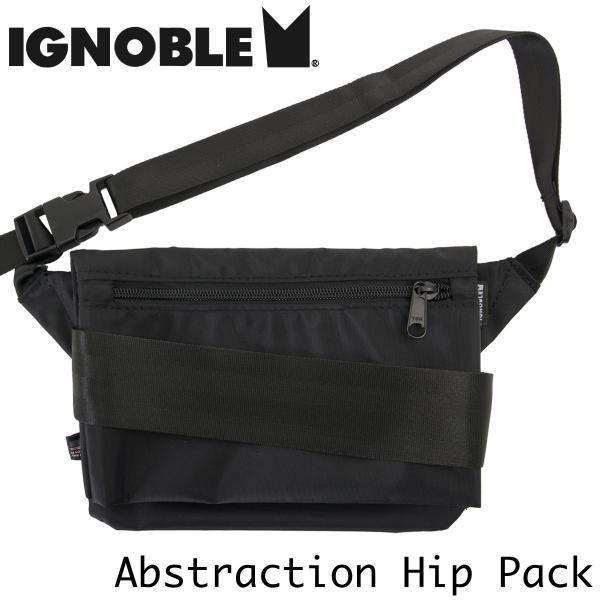 ショルダーバッグ IGNOBLE イグノーブル Abstraction Hip Bag アブストラクション ヒップバッグ|2m50cm