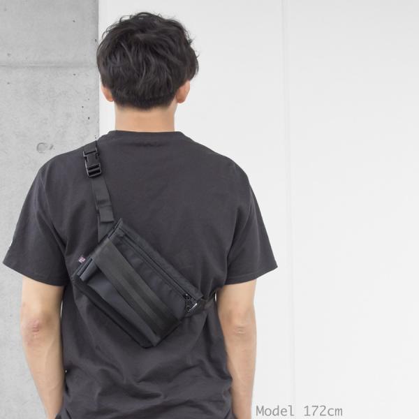 ショルダーバッグ IGNOBLE イグノーブル Abstraction Hip Bag アブストラクション ヒップバッグ|2m50cm|02