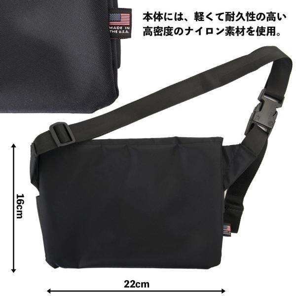 ショルダーバッグ IGNOBLE イグノーブル Abstraction Hip Bag アブストラクション ヒップバッグ|2m50cm|08