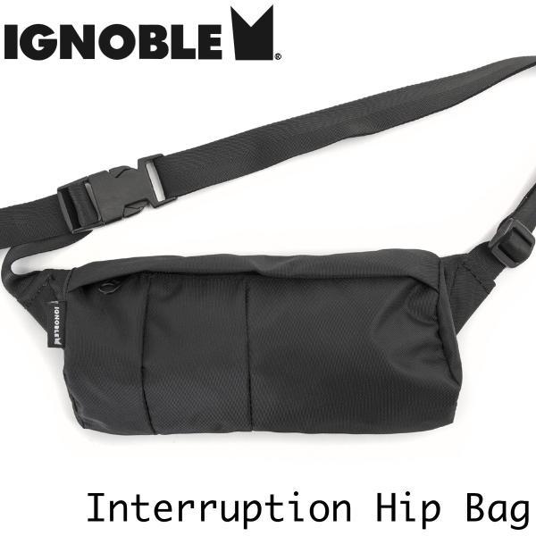 ヒップバッグ IGNOBLE イグノーブル Interruption Hip Bag インタラプション ヒップバッグ|2m50cm