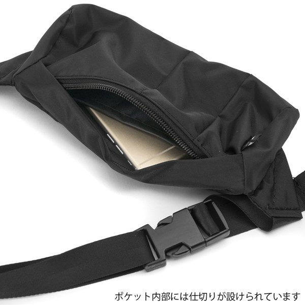ヒップバッグ IGNOBLE イグノーブル Interruption Hip Bag インタラプション ヒップバッグ|2m50cm|07