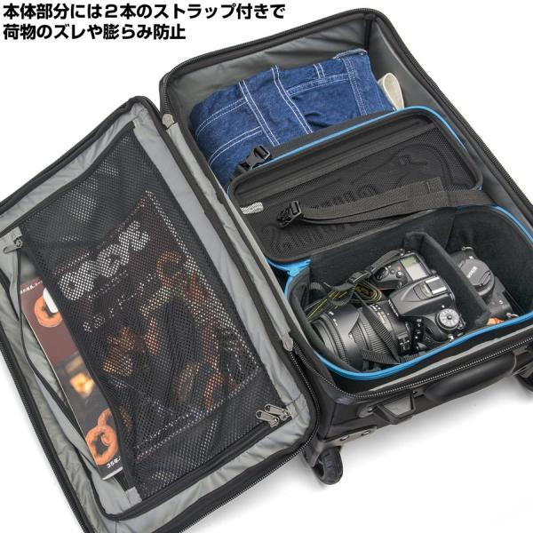 カリマー karrimor Clamshell 40 クラムシェル 機内持ち込み キャリーバッグ|2m50cm|09