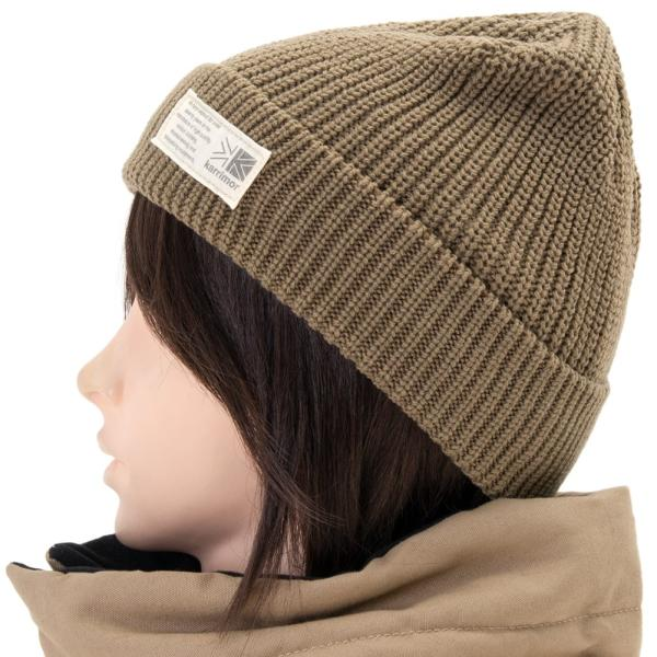 ニット帽 karrimor カリマー folded beanie 4 フォールデッド ビーニー|2m50cm|08