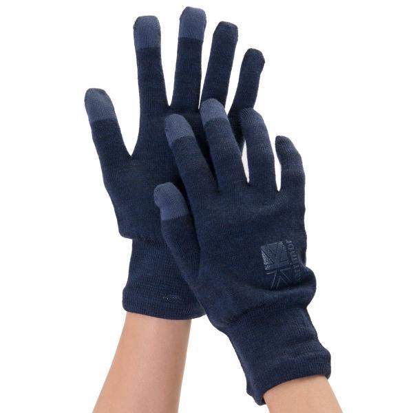 カリマー karrimor 手袋 wool logo glove グローブ 2m50cm 11