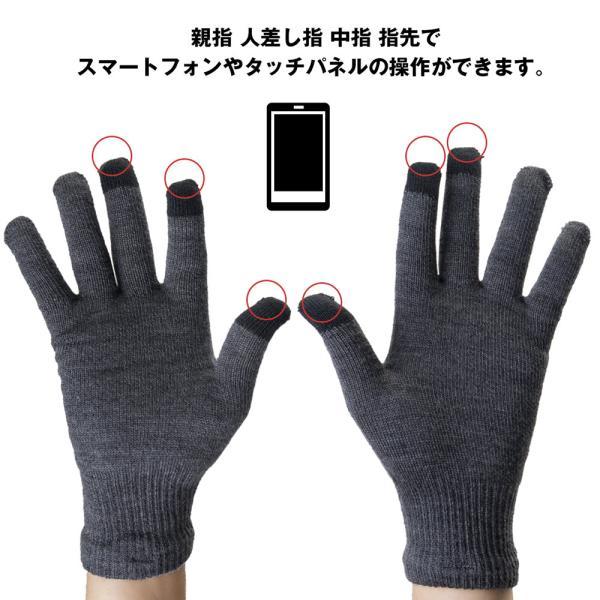 手袋 カリマー karrimor wool logo glove グローブ|2m50cm|02