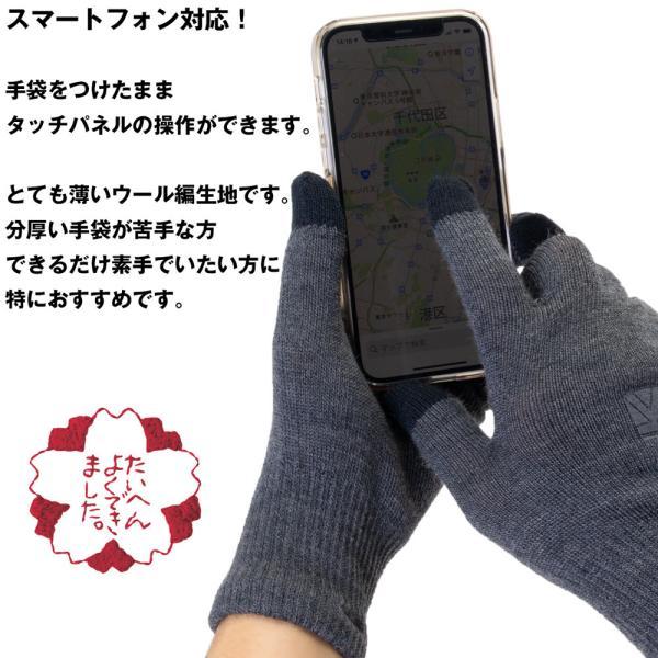 手袋 カリマー karrimor wool logo glove グローブ|2m50cm|06