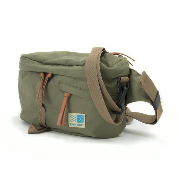 カリマー ボディバッグ karrimor VT hip bag CL|2m50cm|13
