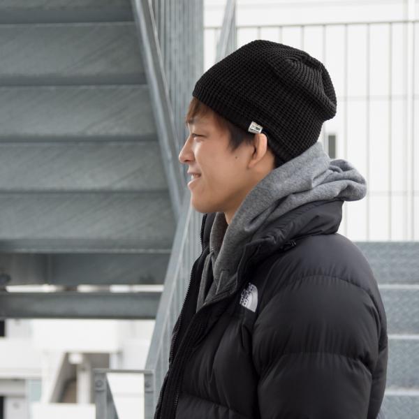 帽子 karrimor カリマー ワッフル ビーニー waffle beanie|2m50cm|04