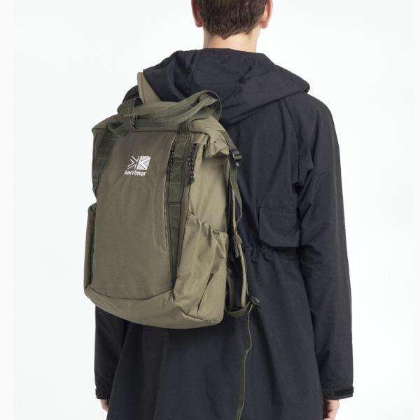 リュックサック karrimor カリマー habitat serise roll tote sack ロールトートサック 2WAYバッグ|2m50cm|18