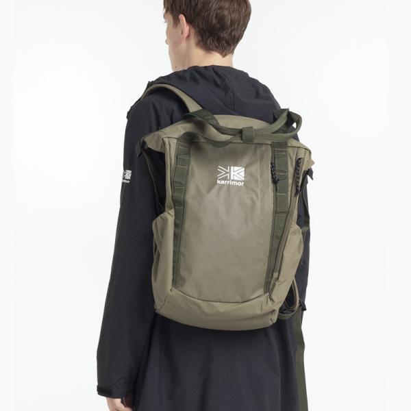 リュックサック karrimor カリマー habitat serise roll tote sack ロールトートサック 2WAYバッグ|2m50cm|10