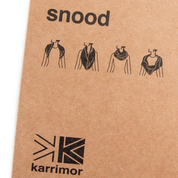 スヌード karrimor カリマー meringue snood II メレンゲ ネックウォーマー 2m50cm 09