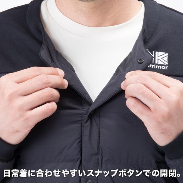 アウター karrimor カリマー ダウン indie cardigan インディ カーディガン (ユニセックス)|2m50cm|05