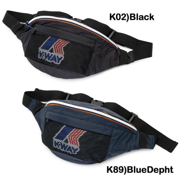 ウエストバッグ K-WAY ケイウェイ LE VRAI 3.0 KILIAN ルブレ 3.0 キリアン|2m50cm|12