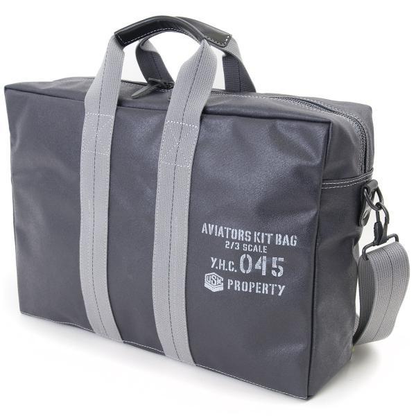 横浜帆布鞄 x 森野帆布 M14A12 Aviators Kit Bag 2/3|2m50cm|08