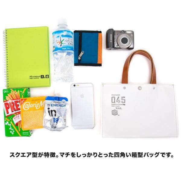 横浜帆布鞄 x 森野帆布 M17A17 Container Tote Bag Mini トートバッグ ミニ|2m50cm|03