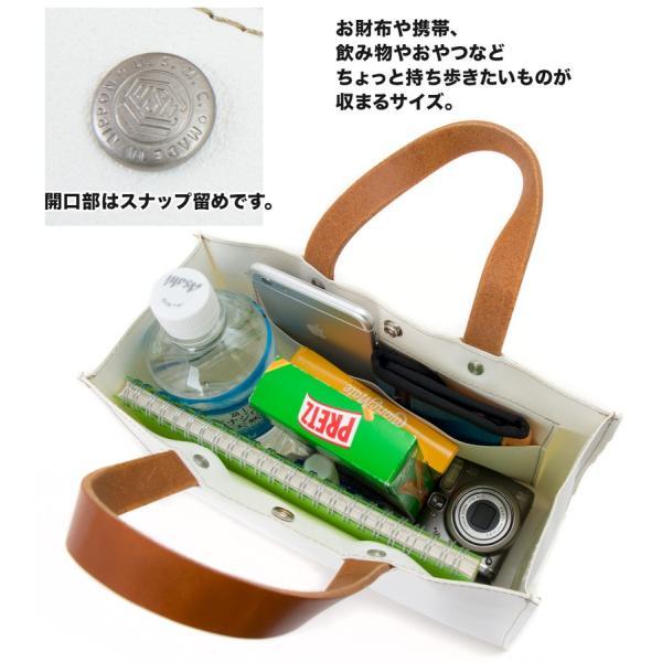 横浜帆布鞄 x 森野帆布 M17A17 Container Tote Bag Mini トートバッグ ミニ|2m50cm|04