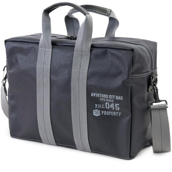 横浜帆布鞄 x 森野帆布 M18A11 Aviators Kit Bag 3/5S|2m50cm|13