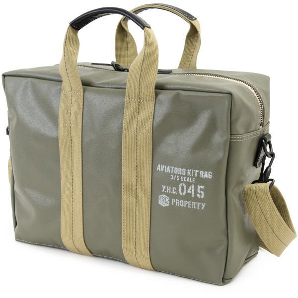 横浜帆布鞄 x 森野帆布 M18A11 Aviators Kit Bag 3/5S|2m50cm|14