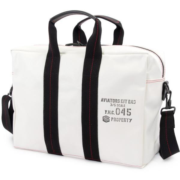 横浜帆布鞄 x 森野帆布 M18A11 Aviators Kit Bag 3/5S|2m50cm|16